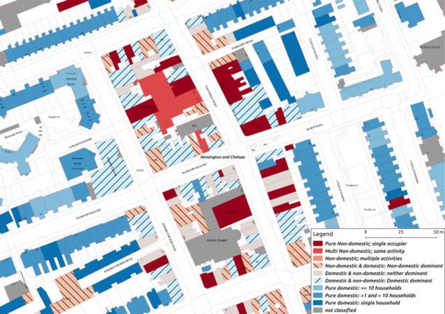 Figure 3: 3DStock model of Portobello Road, London.
