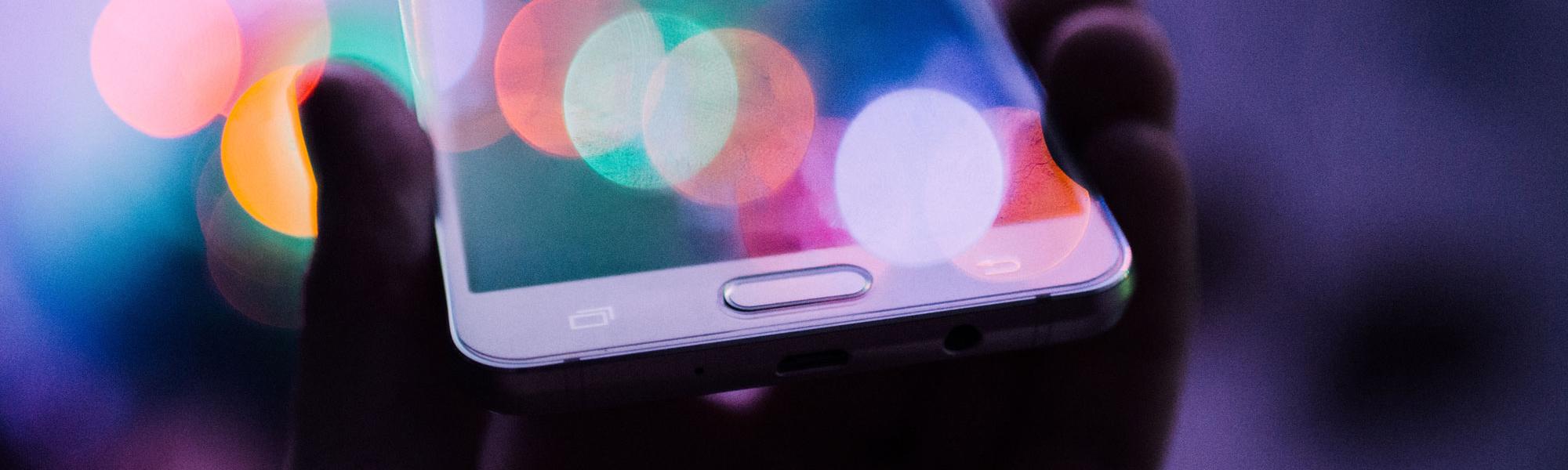iPhone in evening light Photo by Rodion Kutsaev on Unsplash