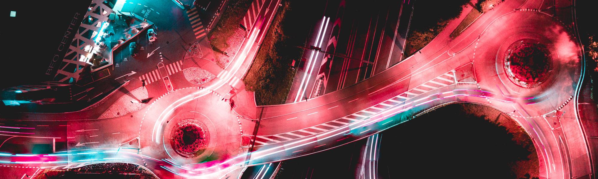 Red lights on interchange Photo byRaphael SchalleronUnsplash