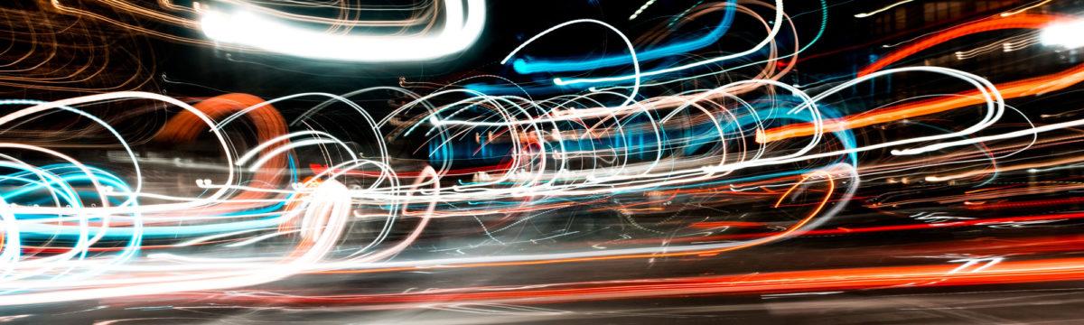 Traffic in motion at night Photo byOsman RanaonUnsplash